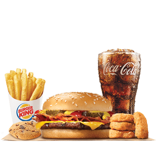 """Burger King have introduced the 5 for $4 deal, advertised as """"A ..."""