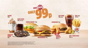 Burger King UK Kingsavers