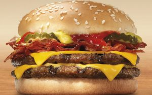 Burger king Double Cheeseburger