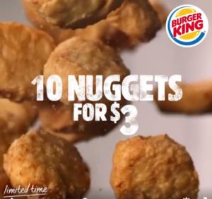 BK NZ 10 nuggets $3