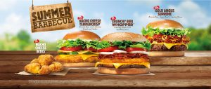 Burger King UK Summer Barbecue