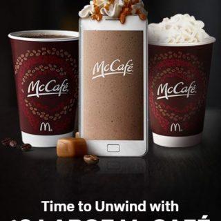 $3 Large McCafe