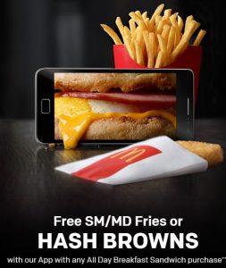 Free Fries Hash Brown