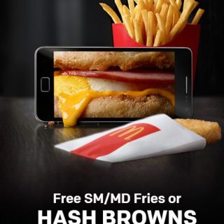 Free Fries Hash Brown