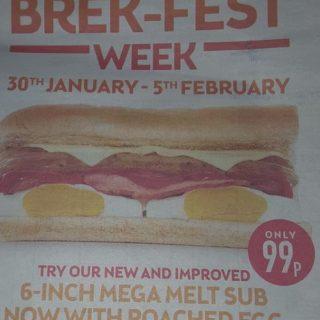 Subway Brek-Fest