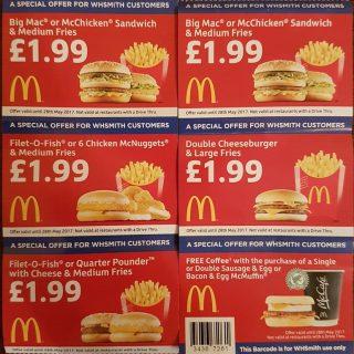 free coupons uk mcdonalds