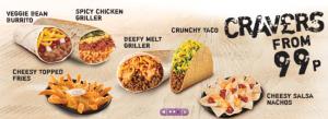 Taco Bell UK Cravers