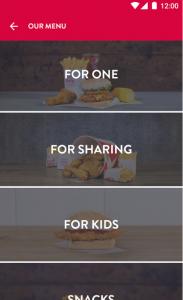 KFC Colonels Club App